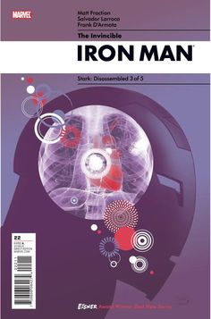 Iron Man Cover Design. Stark: Disassembled 3 of 5.