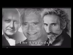 Learn From The Legends: Iconic hairdressers Vidal Sassoon, Trevor Sorbie, and Robert Lobetta.