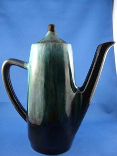 Blue Mountain Pottery Tea Pot  Perfect by ElodieVintageHome, $36.00