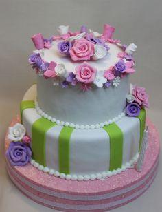 Flower Cake by Violeta Glace
