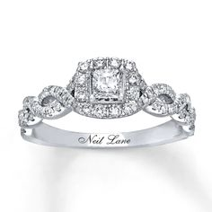 Engagement Ring For Her, Princess Cut Rings, Engagement Ring Settings, Diamond Engagement Rings, Halo Engagement, Solitaire Rings, Earrings, Princess Cut, Diamonds