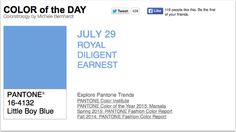 APPart – Mobile Art – Pantone Color of the Day – 'Little Boy Blue' – TheAppWhisperer