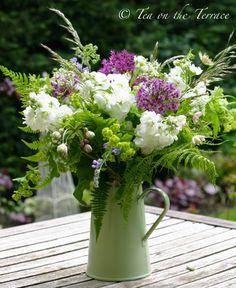 Hand Tied British Garden Bouquet of Flowers