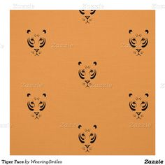 Tiger Face Fabric
