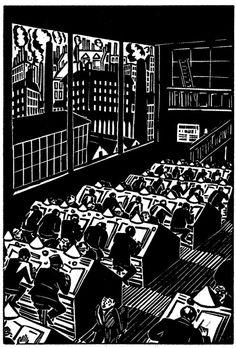 Frans Masereel. Die Stadt/The City