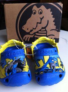 ba52c2d7d89a7 Crocs Boys  Batman Glow-in-the-Dark Clog