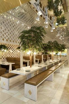 Beautiful restaurant interior
