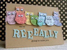 "https://flic.kr/p/8Ko3SP | Miss You | Details <a href=""http://hedgehogsandladybirds.blogspot.com/2010/10/miss-you.html"" rel=""nofollow"">here<a>.  Hero Arts stamps: LP167 - Owl Trio AF942 - Tiny Owl </a></a>"