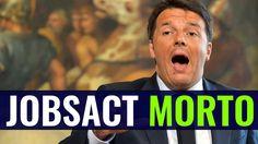 Il #JobsAct di Renzi è morto. Ascoltate i nuovi dati