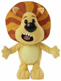 Raa raa the noisy lion Soft Toy Approx 6 Inches CBeebies Yellow