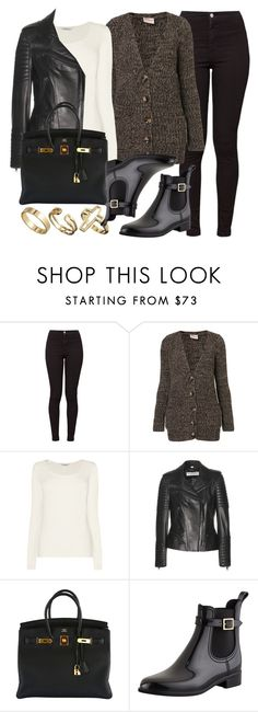 """""""Style #6222"""" by vany-alvarado ❤ liked on Polyvore featuring American Apparel, Annie Greenabelle, L.K.Bennett, Burberry, Hermès, Jimmy Choo and Pull&Bear"""