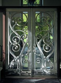 Gates & Doors. This could work in a modern style house.