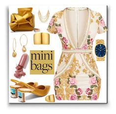 """""""Cute:mini bags"""" by eldinreham on Polyvore featuring N°21, Gabriela Hearst, Kenneth Jay Lane, Bloomingdale's, Patek Philippe, Ross-Simons, LAQA & Co. and minibags"""