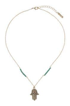 Fatima Hand Pendant - Jewellery - Bags & Accessories - Topshop Europe