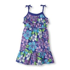 floral ruffle dress | US Store