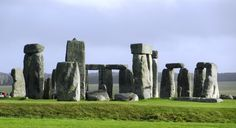 Stonehenge at about 9 a.m. in October