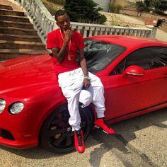 Atl's Soulja Boy has been known to stunt more often than not. Black Men Street Fashion, Mens Fashion, Marley Twist Hairstyles, Soulja Boy, Marley Twists, Celebs, Celebrities, Air Jordans, Kicks