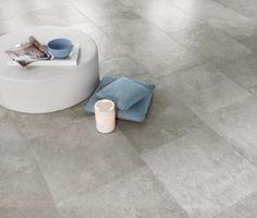 [ Younhyun Tile / 윤현상재 타일 ] Exposed Concrete Style Tile : Chambord Grey / Size (cm) : 60.5X60.5 , 60X90