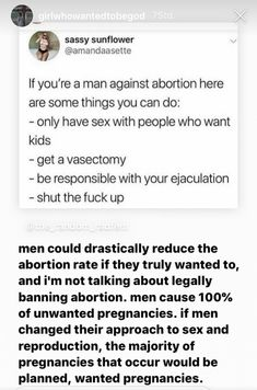 Men cause of unwanted pregnancies All That Matters, Pro Choice, Patriarchy, Faith In Humanity, Things To Know, Thought Provoking, True Stories, Equality, The More You Know