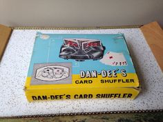 Dan Dee card shuffler in box fifties vintage mid by SpaceModyssey