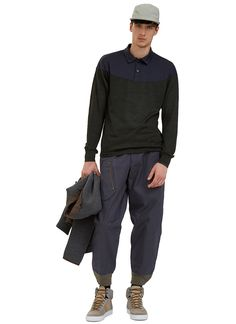 Men's Pants - Clothing | Shop Now at LN-CC - Oversized Cargo Pants