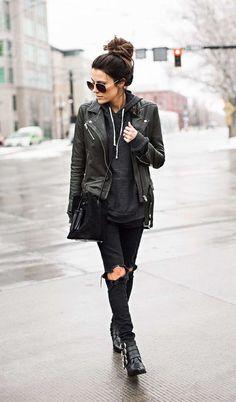6 Looks En Total Black Que Son Cualquier Cosa Menos Básicos | Cut & Paste – Blog de Moda