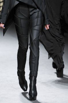 Futuristic Fashion | futuristic style, trousers, black clothing,