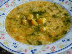 Ciorba de Dovleac cu Iaurt (Lapte Batut, Zer) Kefir, Palak Paneer, Yogurt, Curry, Ethnic Recipes, Soups, Projects, Log Projects, Curries