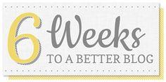 6 Weeks to a Better Blog Recap   SillyGrrl