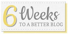 6 Weeks to a Better Blog Recap | SillyGrrl