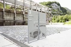 Transforming an abandoned industrial complex into an idyllic natural park – CCRZ Wayfinding Signage, Signage Design, Logo Design, Environmental Graphic Design, Environmental Graphics, Trail Signs, Sign System, Outdoor Signage, Exterior Signage