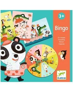 Bingo TRAVELLING mit Drehscheibe in bunt