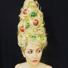 Top 100 christmas hairstyles photos We've just booked our place at the Brentwood Festive Gift show - over 8,000 attend so we better get our elves on the case! #headgarden #brentwoodessex #brentwood #festive #gifts #christmas #accessories #floralheadwear #florals #christmasgifts #partyhair #treepressies #christmashairstyles #glam #events