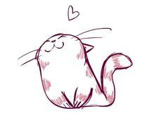 cute cat illustrations - Pesquisa Google