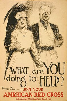 World War I - What are you doing? poster.