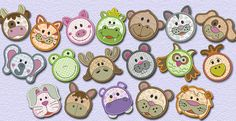 Animal Dots & Buttons