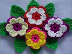 Delicadezas en crochet Gabriela: Flor