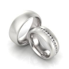 Partnerring Sterling Silber Zirkonia Attractive And Durable Verlobungsring Damen Ring