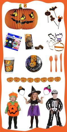 Costumi e decorazioni per Halloween