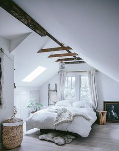 10 Ways to Turn Your Bedroom into a Rustic Country Oasis  via @PureWow