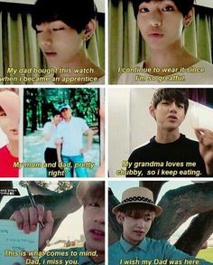 Aw, Taehyung caring for his family so much!! I love it!!
