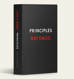 "#1 New York Times #Bestseller ""Significant...The #book is both instructive and surprisingly moving."" —The New York Times Ray Dalio, one of the world's most #successful investors and entrepreneurs, shares the unconventional principles that he's developed, refined, and used over the past forty years to create unique results in both life and business—and which any person or organization can adopt to help achieve their goals. In 1975, Ray Dalio founded an investment firm, Bridgewater Associates"