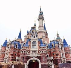 Shanghai Disney Resort! I have a friend that is part of the debut parade cast and I'm so so so jealous