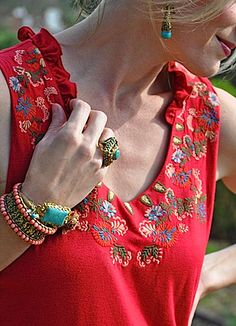 Love the bracelets ...