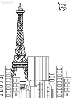 printable eiffel tower coloring pages for kids cool2bkids - Paris Eiffel Tower Coloring Pages