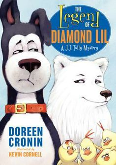 J.J. Tully Mysteries. He's a retired search and rescue dog solving mysteries on the farm. Engaging language and plots.