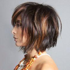 Heb jij bruin haar? Dan ga jij deze korte modellen in bruine haarkleuren vast geweldig vinden! - Kapsels voor haar