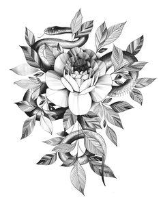 Car Tattoos, Flower Tattoos, Body Art Tattoos, Sleeve Tattoos, Geometric Symbols, Conceptual Drawing, Tattoo Portfolio, Peonies Tattoo, Floral Drawing