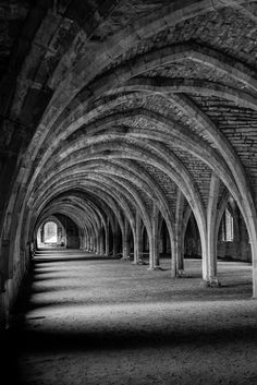 Refectory Fountains Abbey by Sean Plowman on 500px