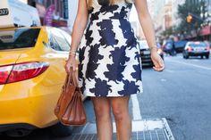 reiss edie jacquard dress - the stripe